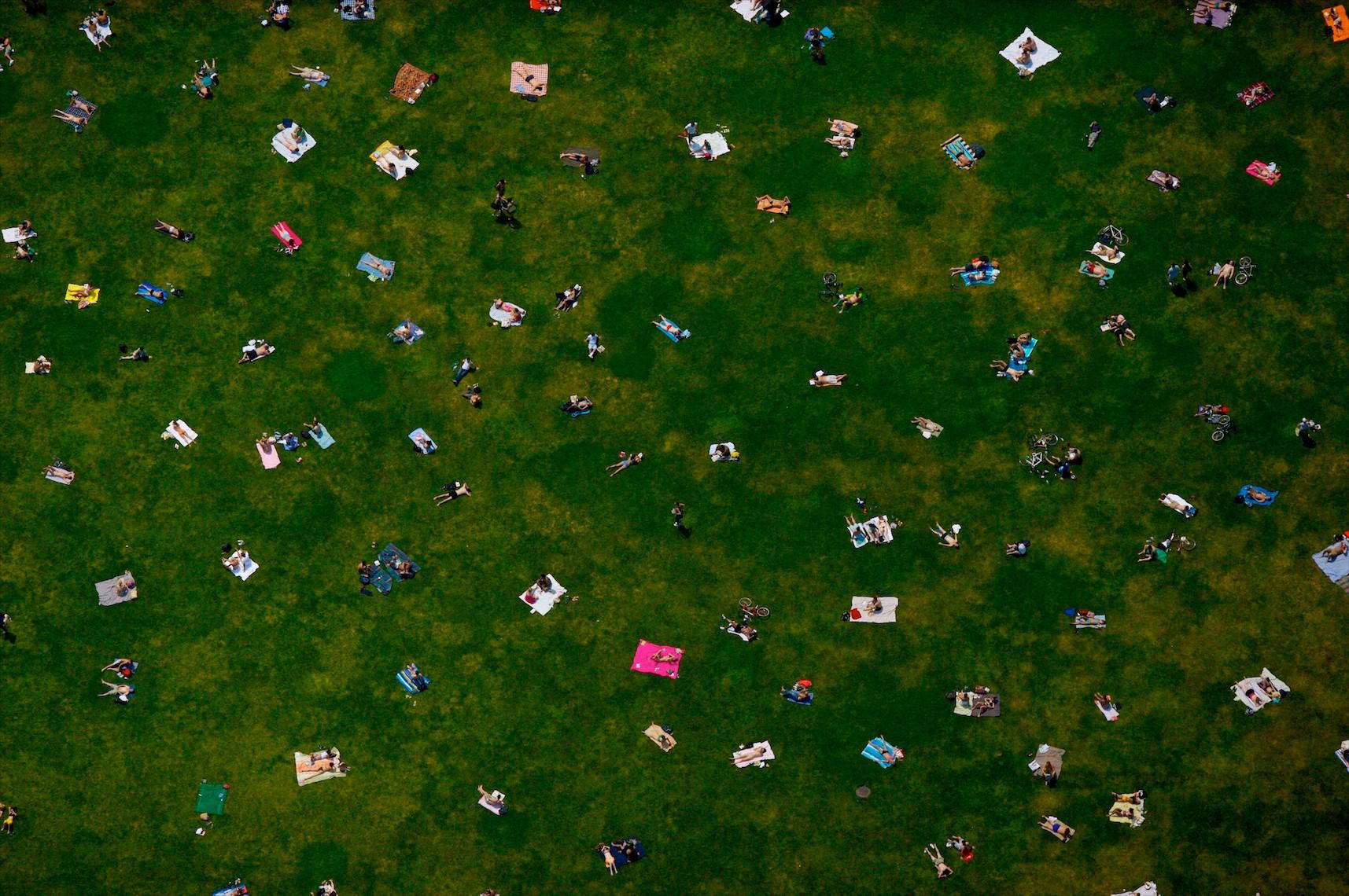 Bryant Park, New York City (Laforet Bryant Park Aerial 01)