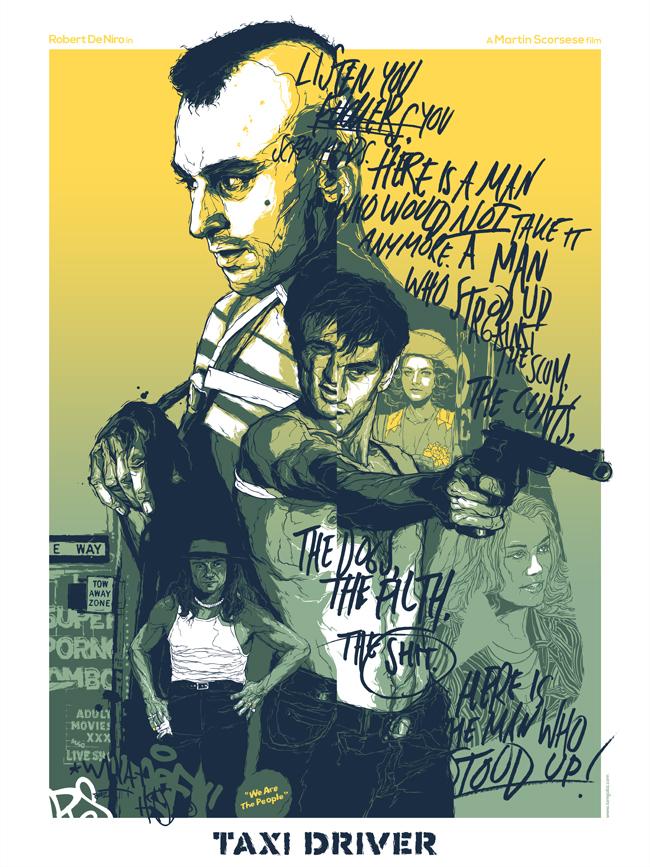 Gabz illustration movie posters 10