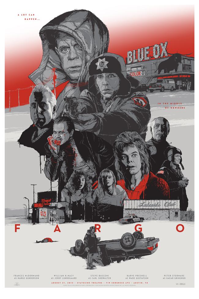 Gabz illustration movie posters 8