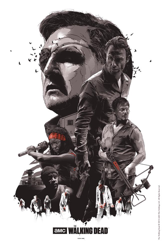 Gabz illustration movie posters 9