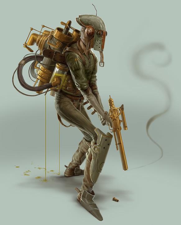 steampunk_star_wars-illustration-boba-fett-oldskull