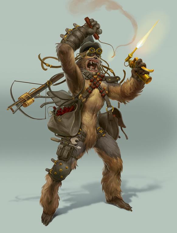 steampunk_star_wars-illustration-chewbacca-oldskull