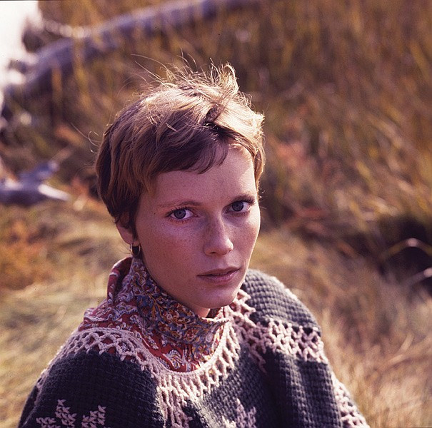 Mia Farrow milton greene