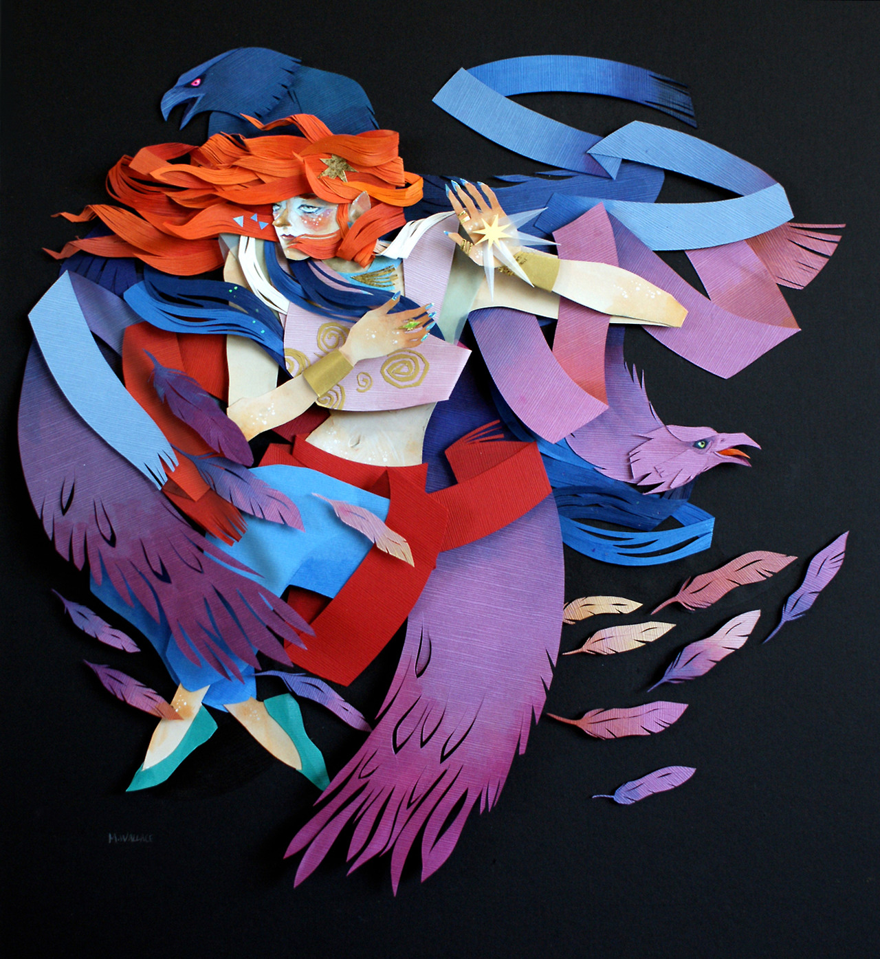 morgana cut paper mytho 3