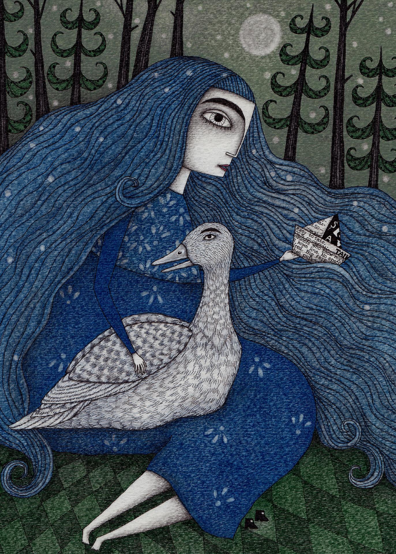 Judith Clay illustration 1