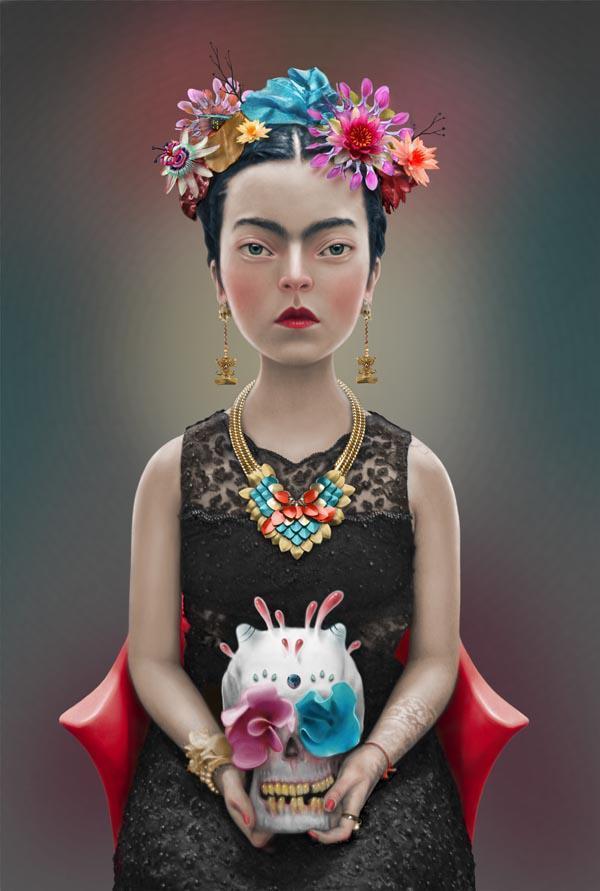 frida kahlo by felipe