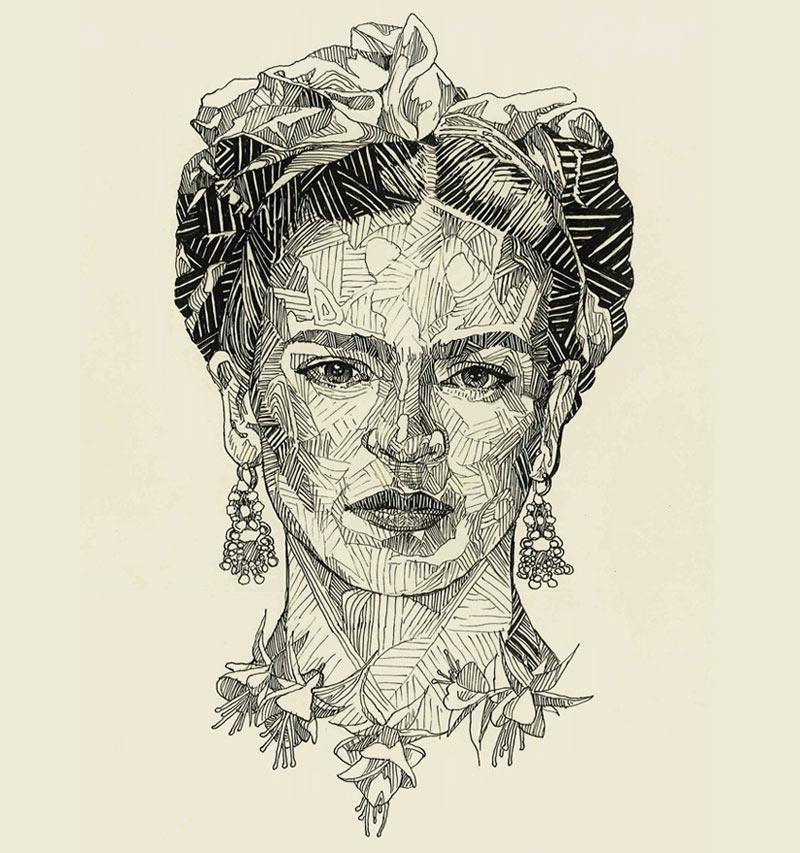 frida-kahlo-sketch