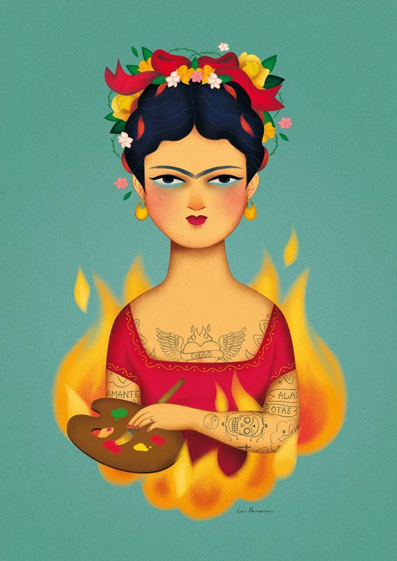 frida kalho ilustracion maria