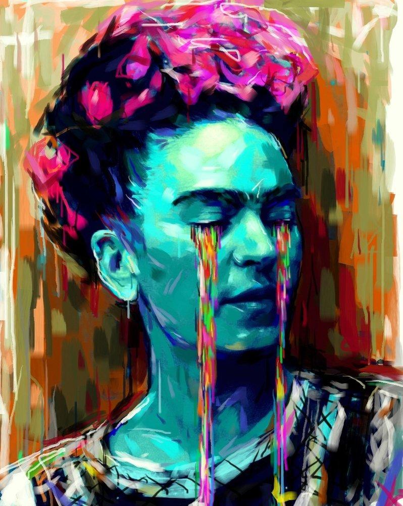 frida_kahlo illustration by_natmir