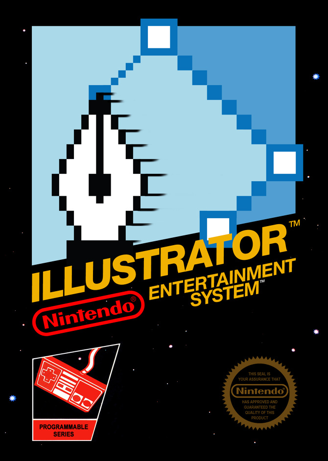 illustrator nes