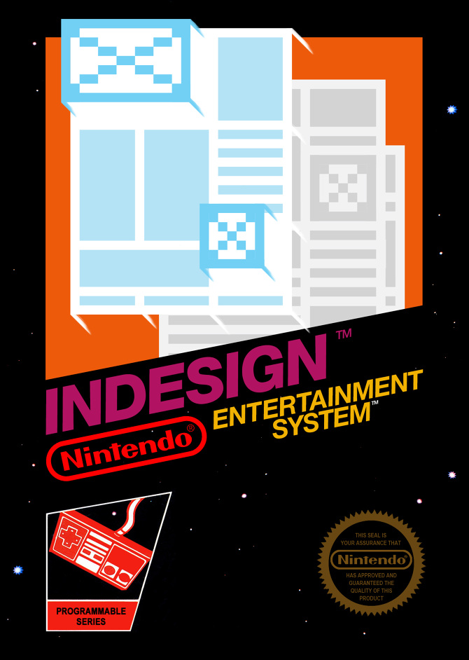 indesign nes