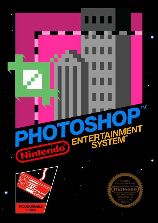 photoshop nes