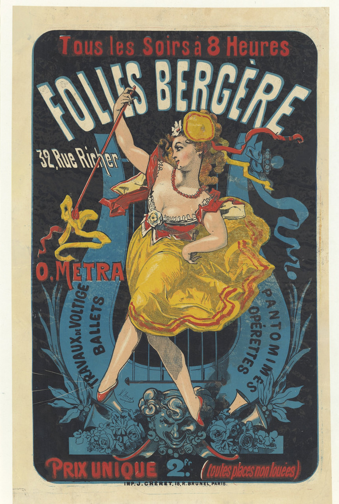 Folies Bergere illustration 5