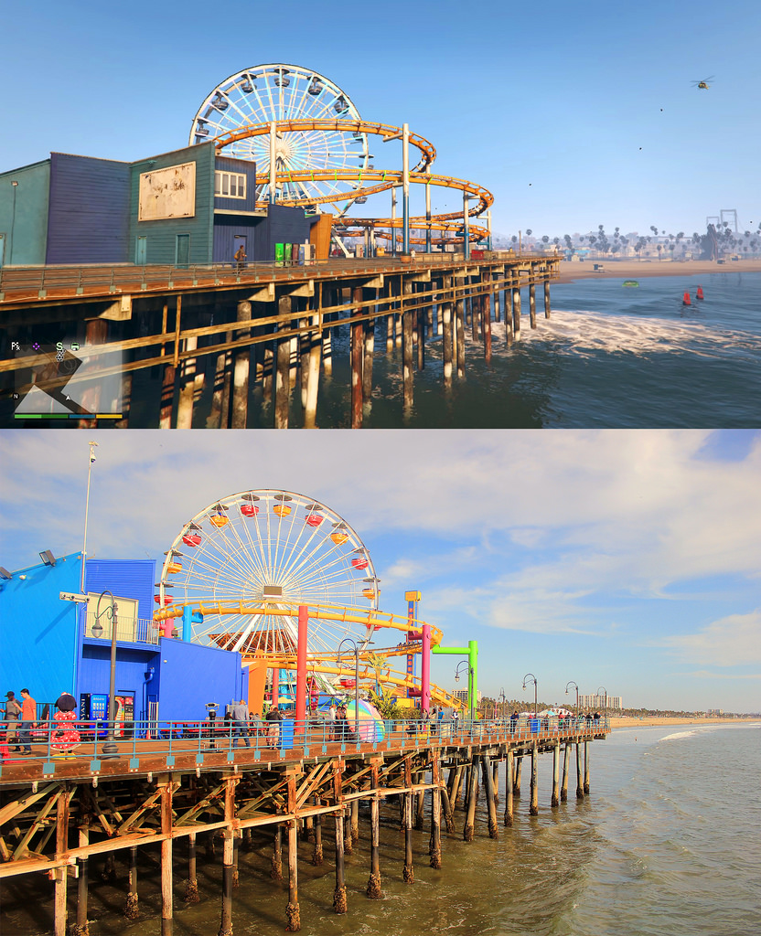 GTA V VS LOS ANGELES 6
