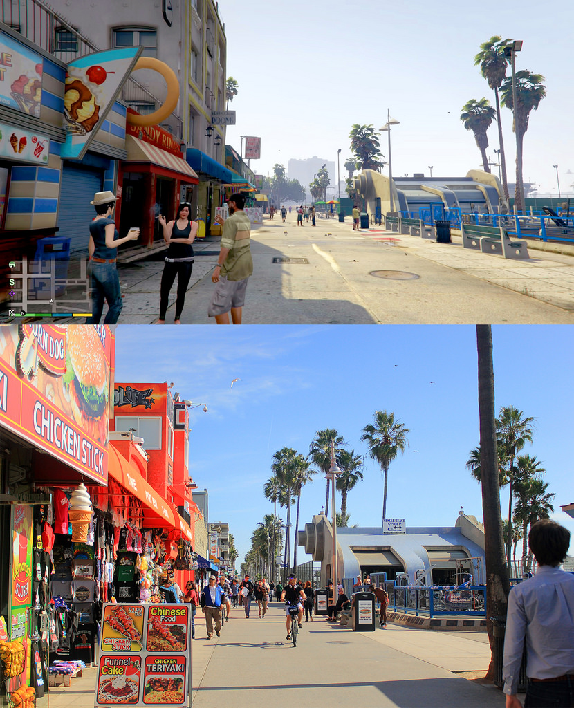 GTA V VS LOS ANGELES 9