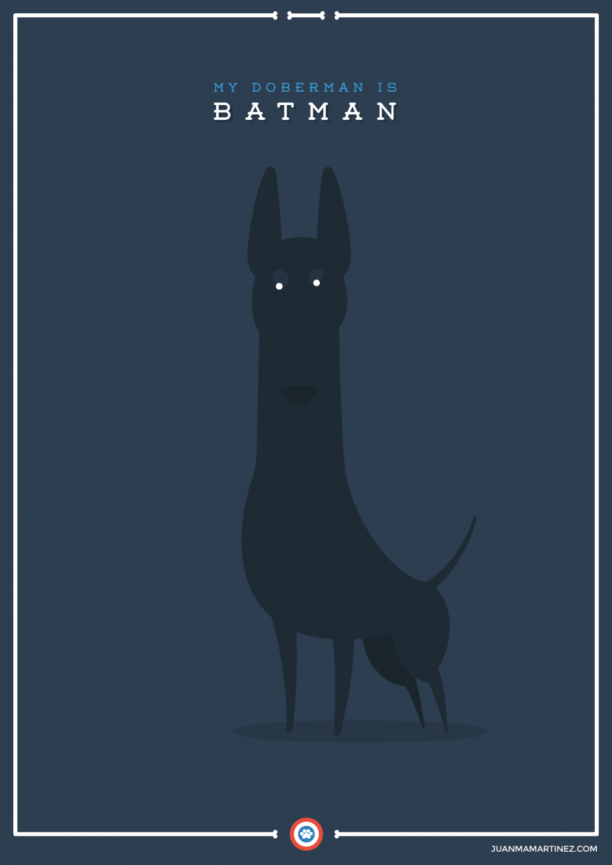 extraordinary-doggies-illustration-batman