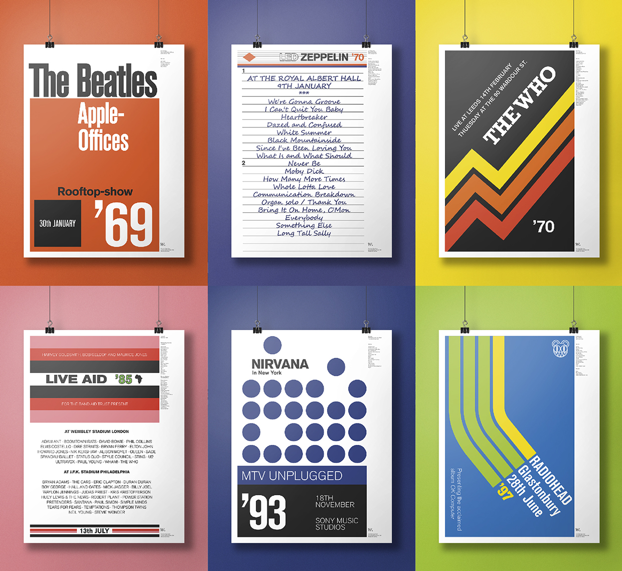 music posters cassettes 7