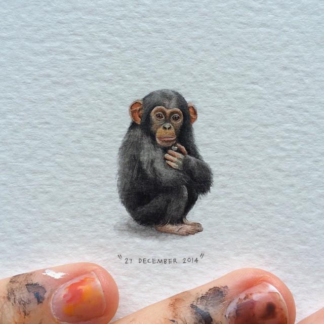 Lorraine Loots mini paintings 0