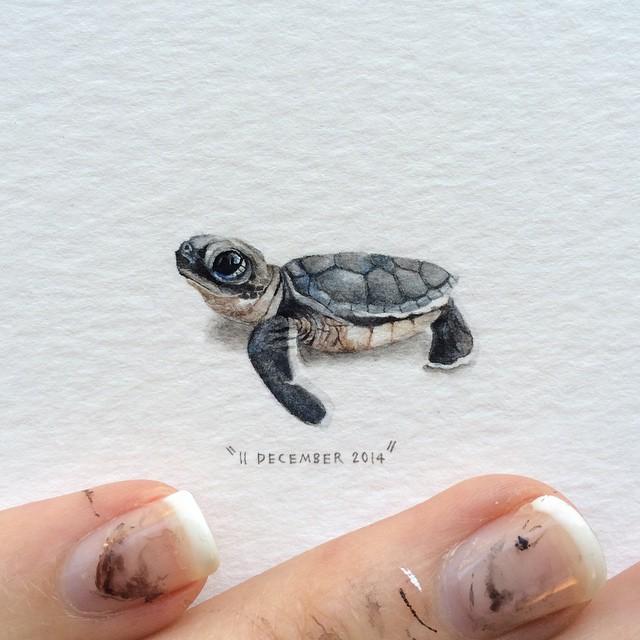 Lorraine Loots mini paintings 4