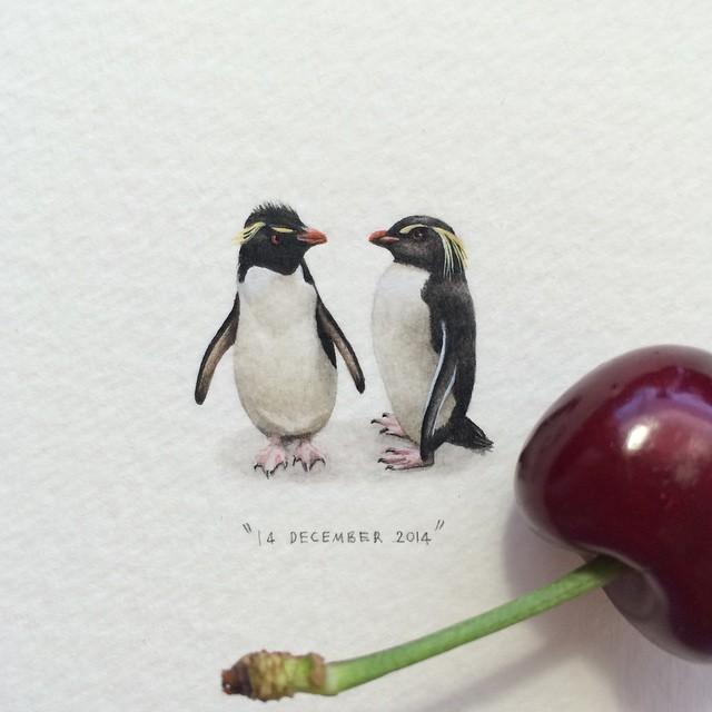 Lorraine Loots mini paintings 5