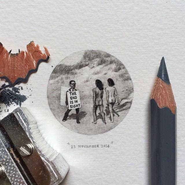 Lorraine Loots mini paintings 7