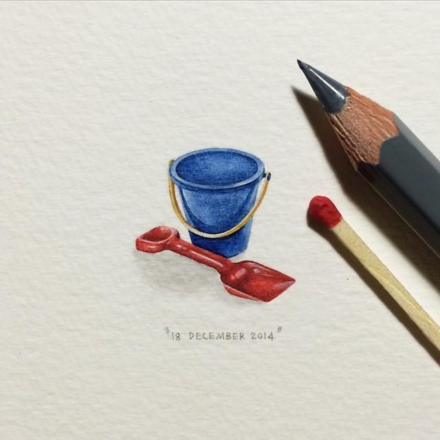 Lorraine Loots mini paintings 8
