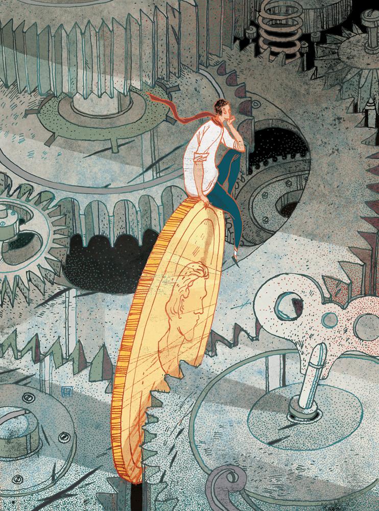 Ilustración Asombrosa - Magazine cover