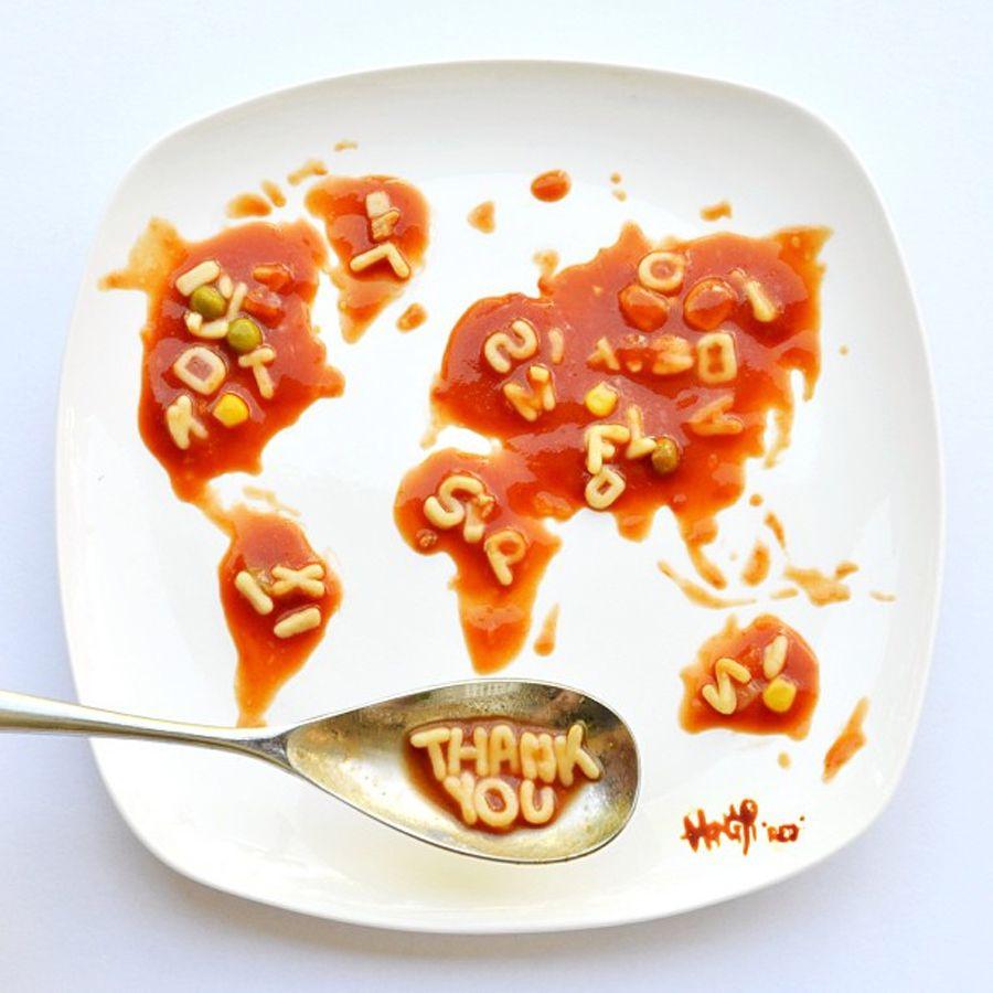 Hong Yi food creative 11