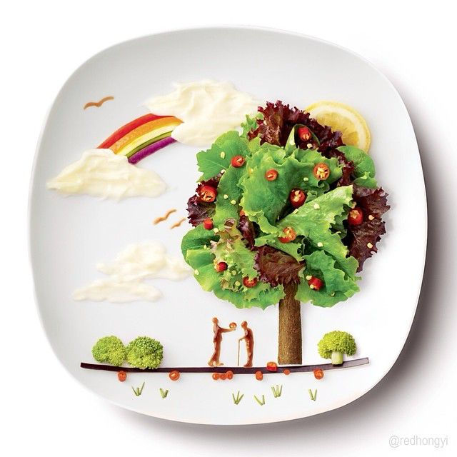 Hong Yi food creative 14