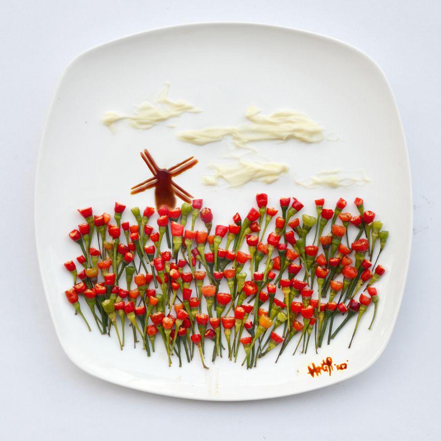 Hong Yi food creative 9