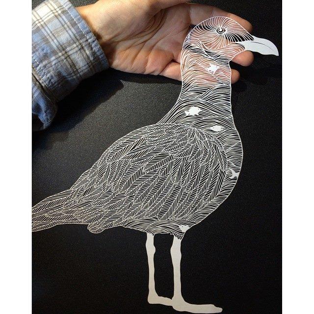 paper cut illustrations 9