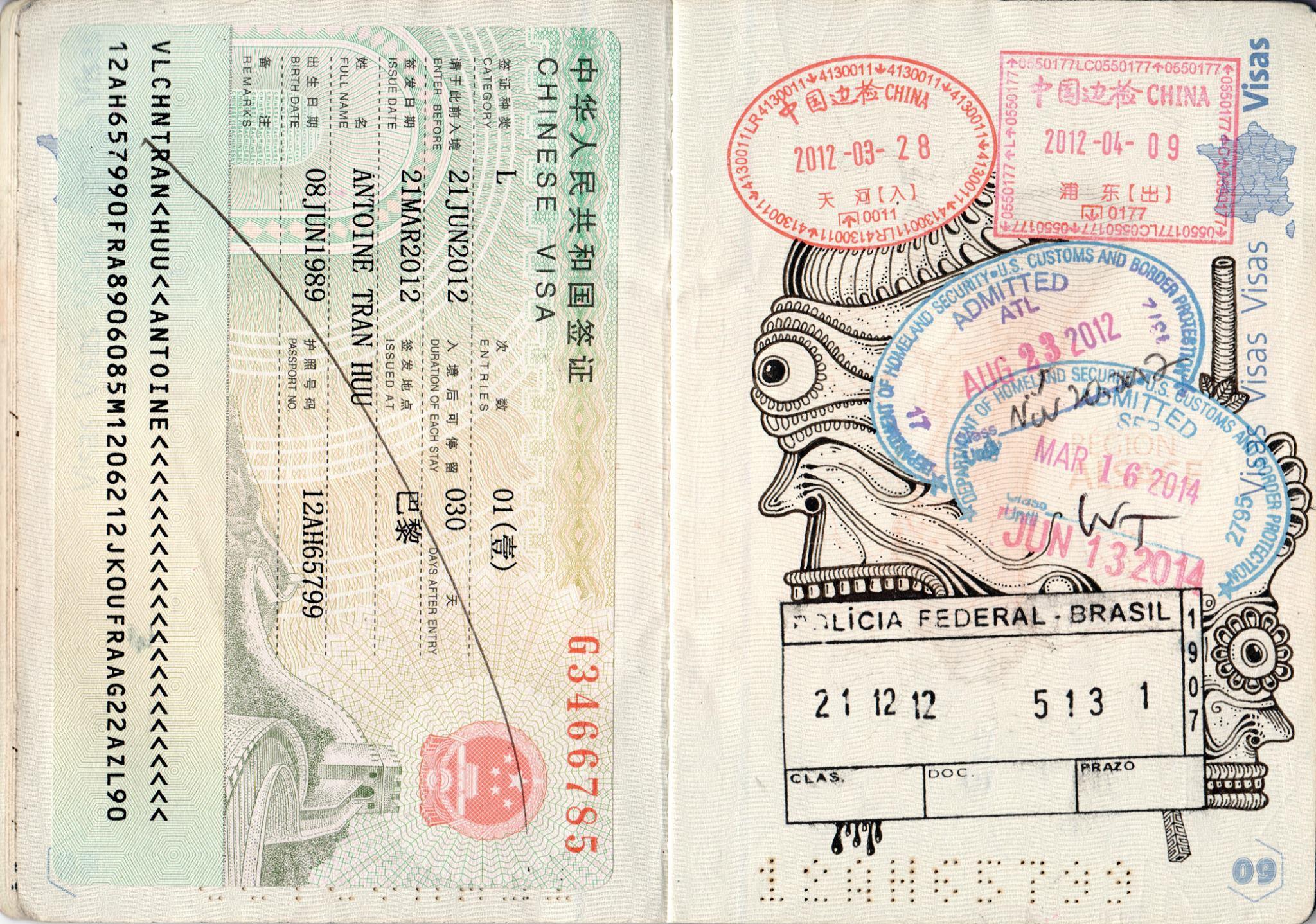 passport illustration 2