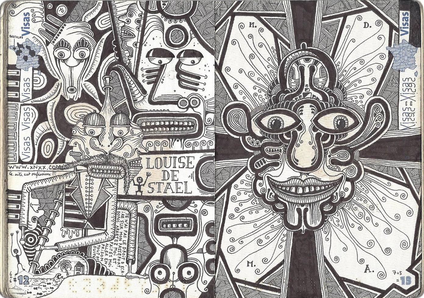 passport illustration 7