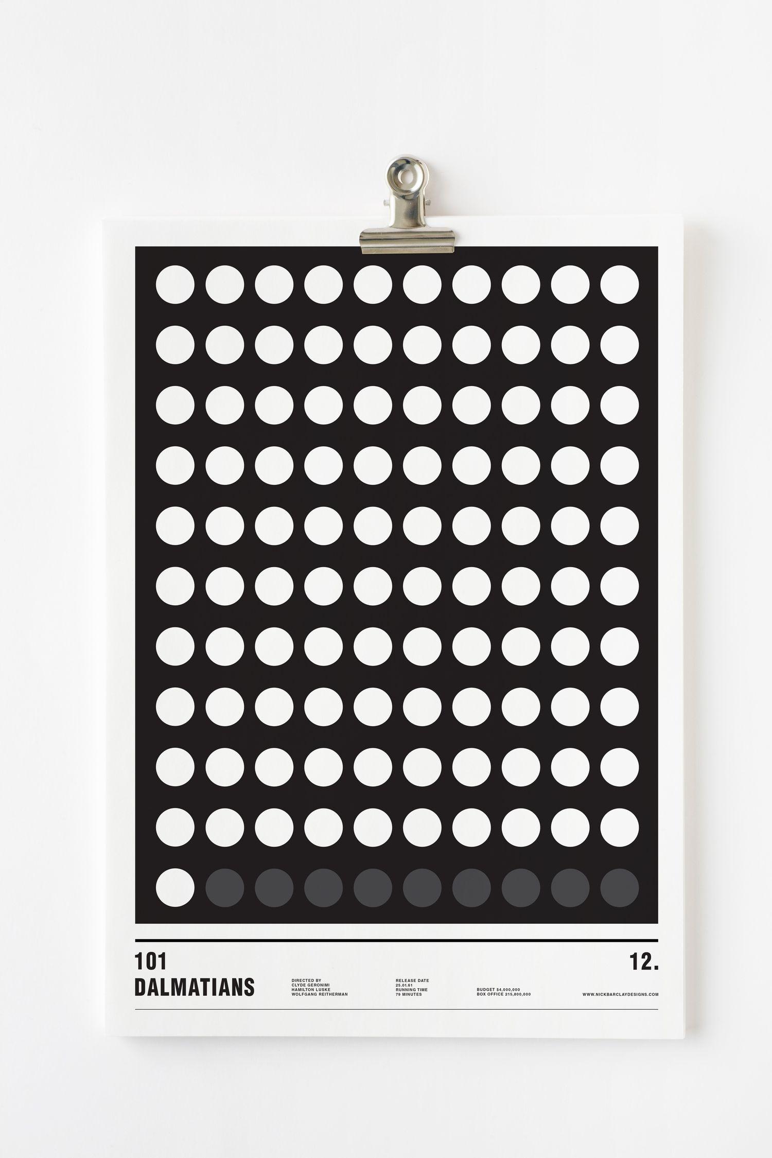 101 dalmatas minimalism
