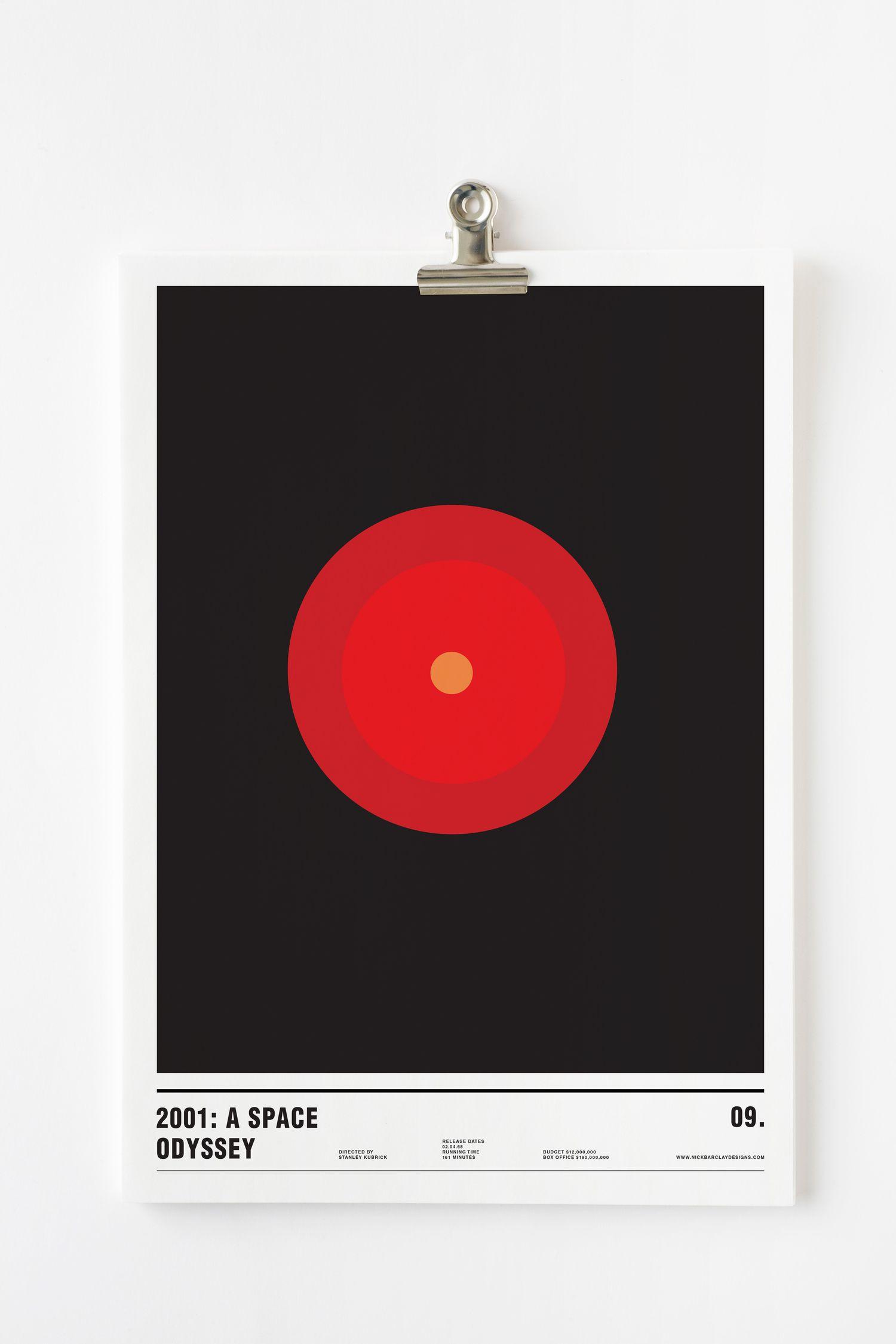 2001 a space odyssey minimalism