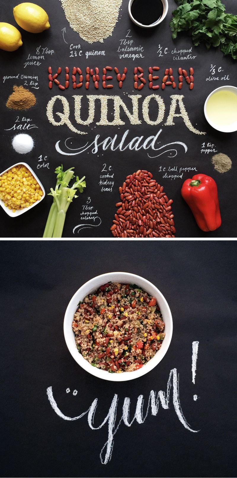 Food lettering 5