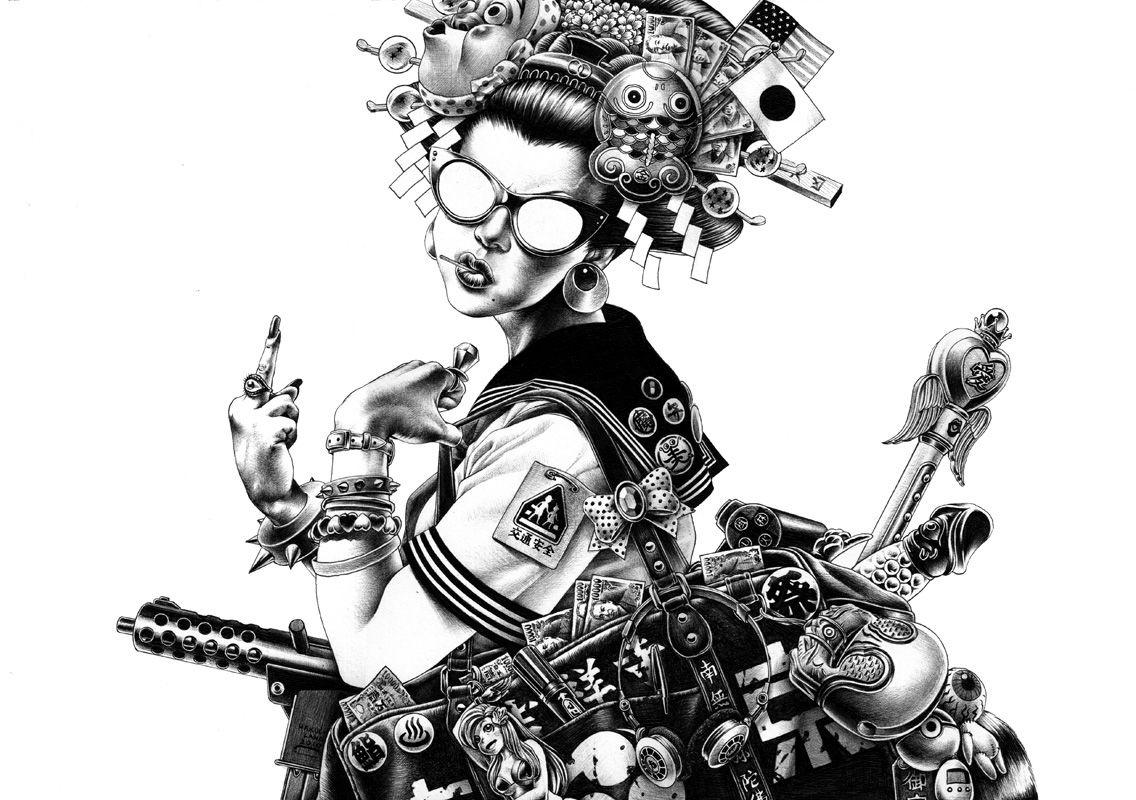 shoei otomo illustration 1-1