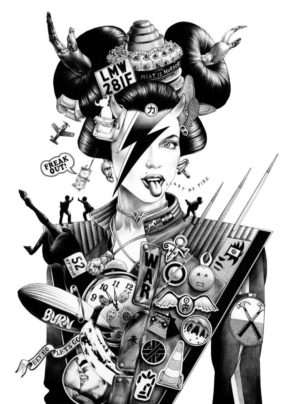 shoei otomo illustration 6