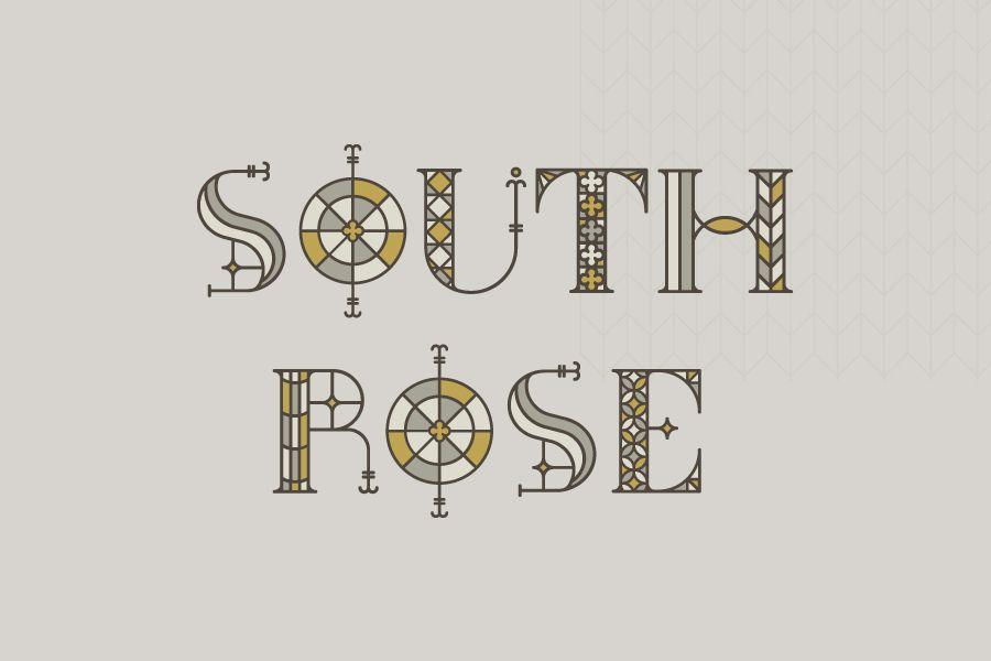 south rose free font 0