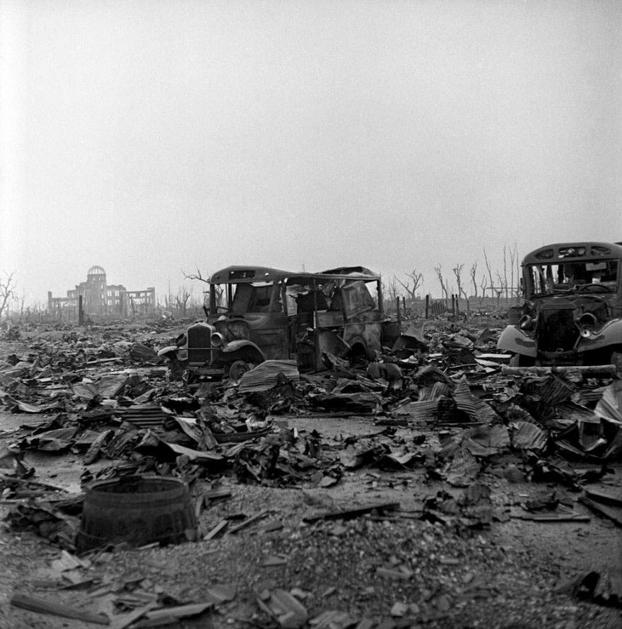 Not published in LIFE. Hiroshima, 1945.