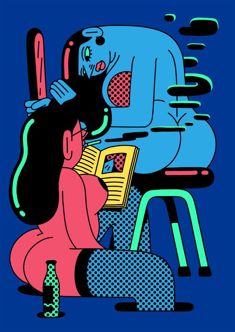 pop illustrations Simon Landrein 2