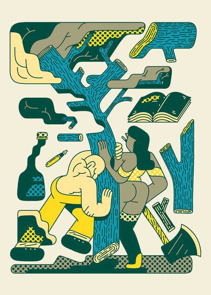 pop illustrations Simon Landrein 8