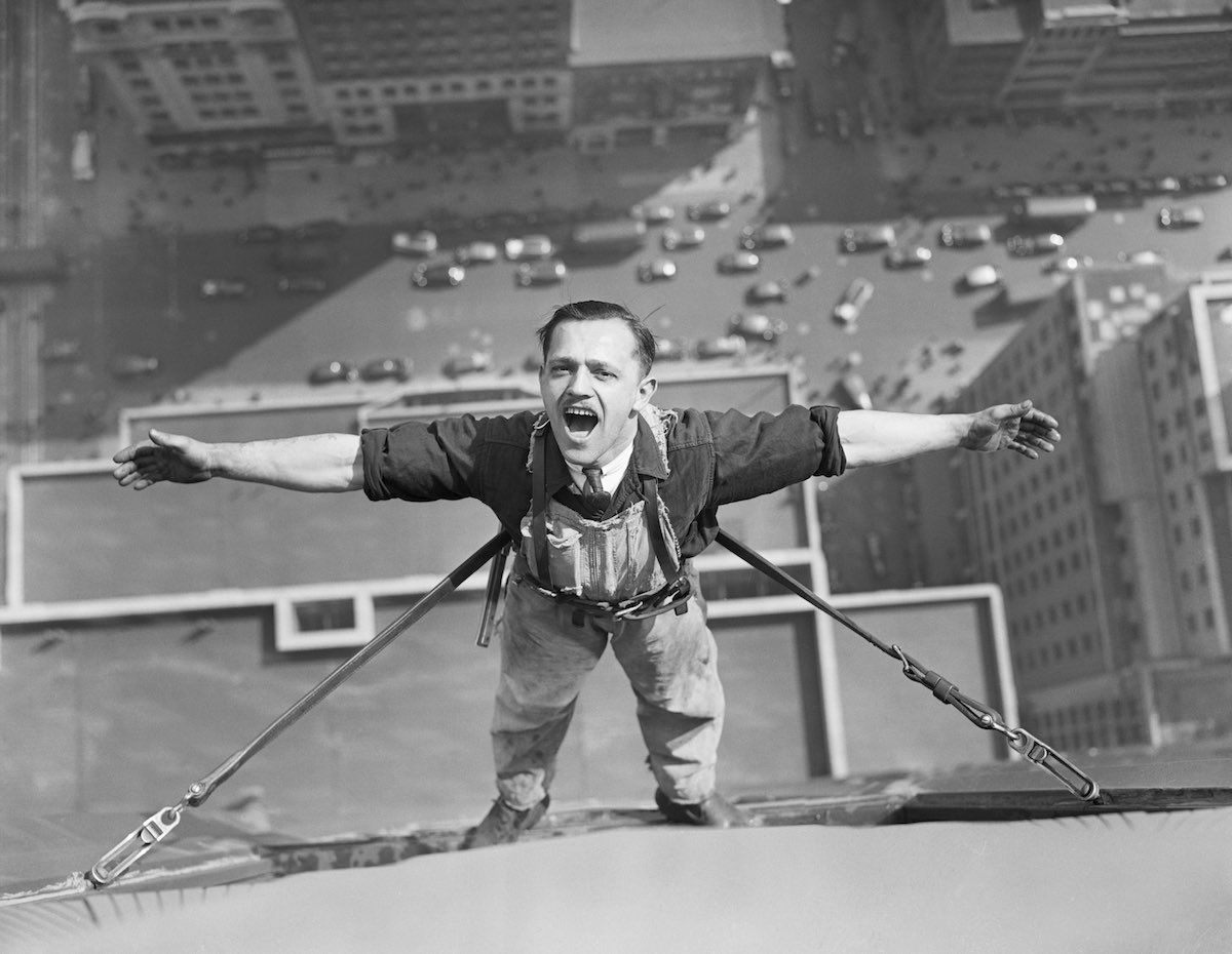 Empire State Building Window Washer