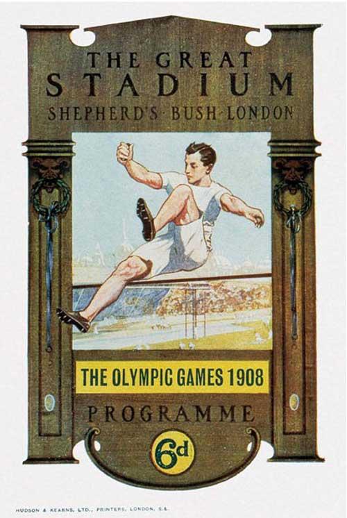 Olimpic games london 1908