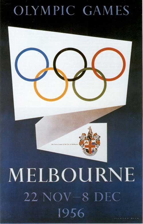 Olimpic games melbourne 1956