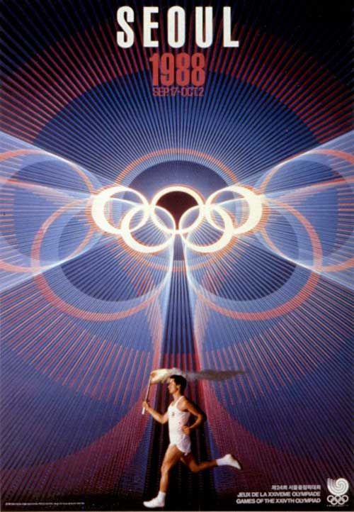 Olimpic games seoul 1988