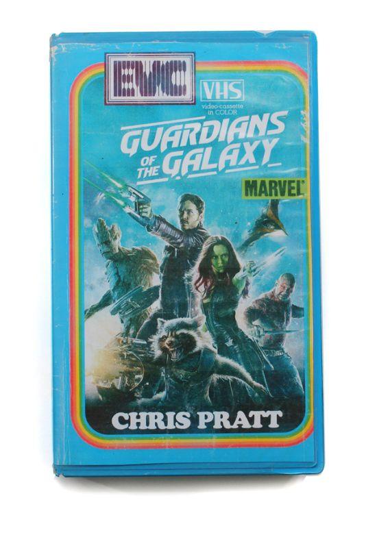 guardianes de la galaxia vhs oldskull
