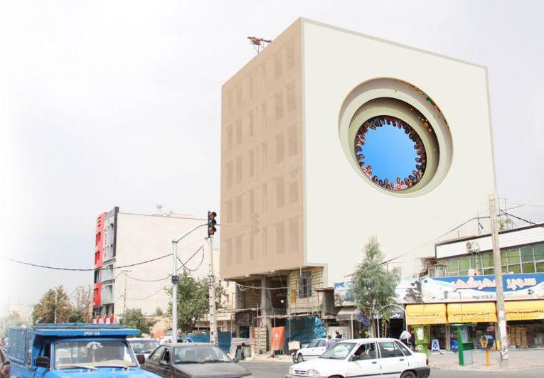 mehdi ghadyanloo street art optical illusion 10