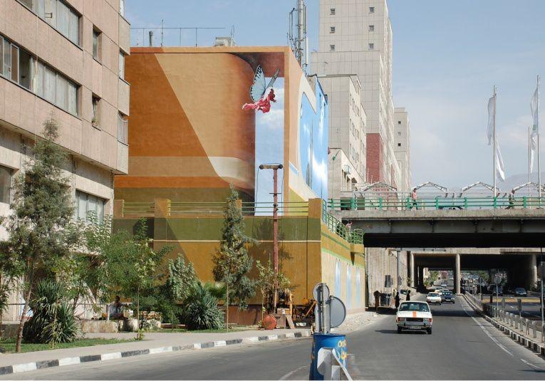 mehdi ghadyanloo street art optical illusion 14