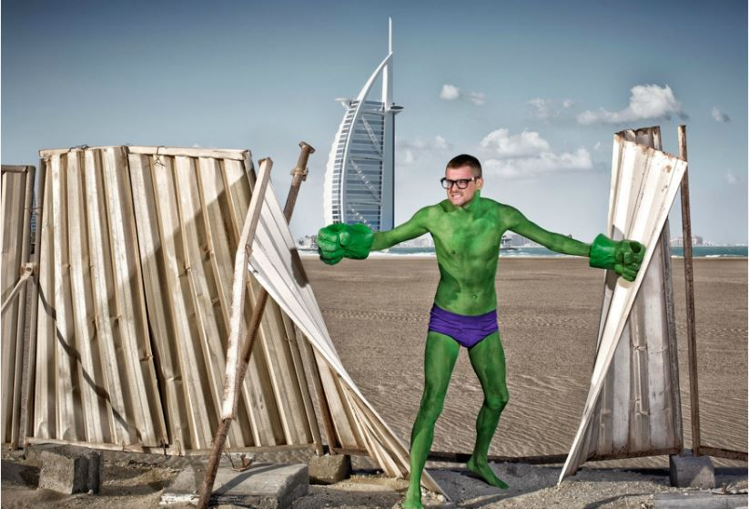 super heroes photography 2